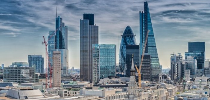 New York replaces London as the new global financial hub according to the survey.