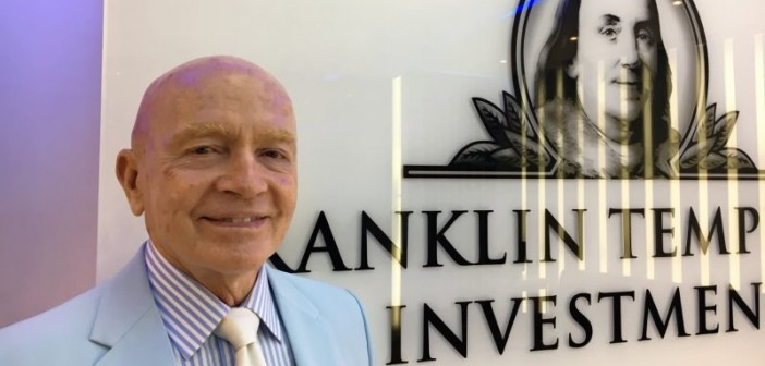 Financial Investor Mark Mobius Approves Of Gold As A Valuable Asset For Every Level